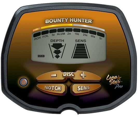 Дисплей металлоискателя Bounty Hunter