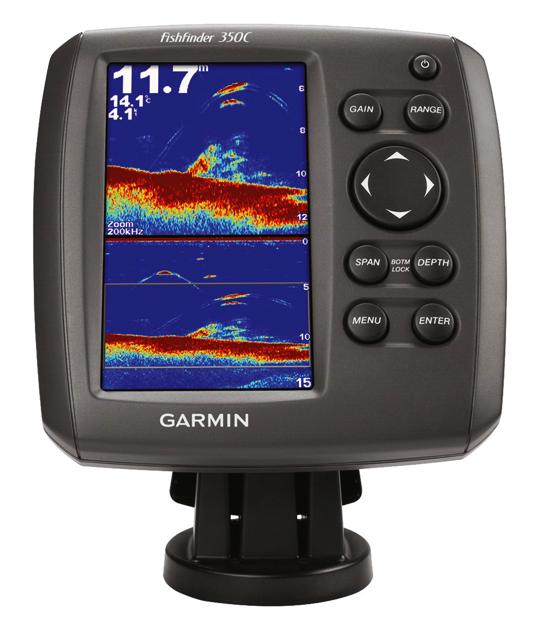 Эхолот Garmin Fishfinder 350