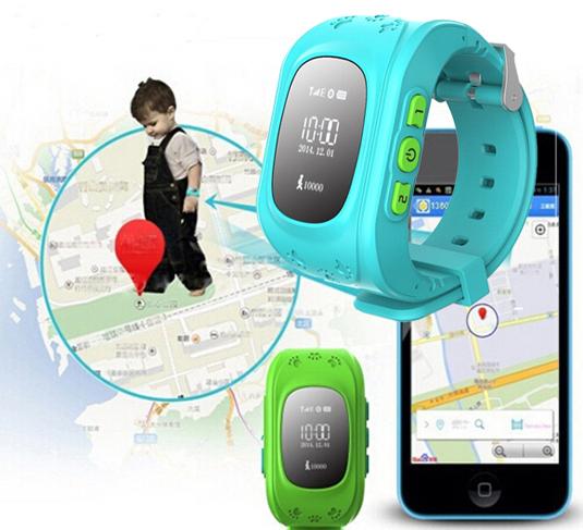 GPS-часы для детей