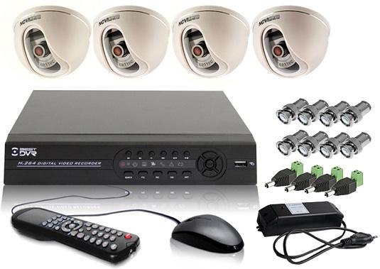 Комплект видеонаблюдения DVR