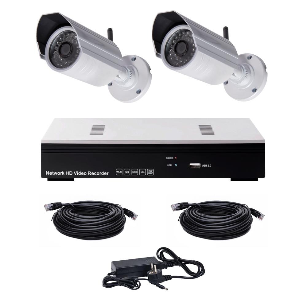 Комплект видеонаблюдения NVK-2003