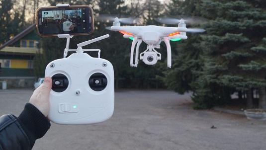Квадрокоптер для видеосъемки