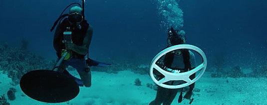 Металлодетектор для поиска под водой