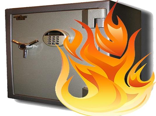 Огнестойкий сейф