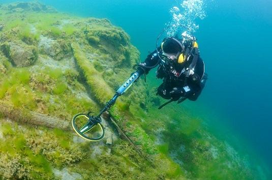 Подводный металлоискатель Minelab