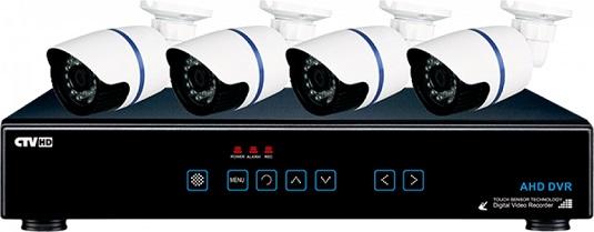 Система видеонаблюдения AHD