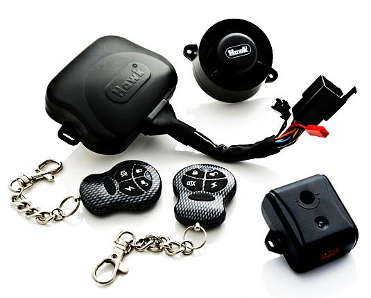 Мотосигнализация Hawk Motorcycle Alarm X60