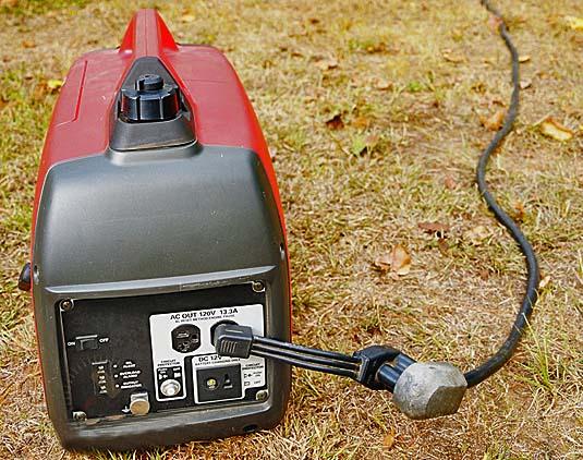Переносной бензиновый генератор