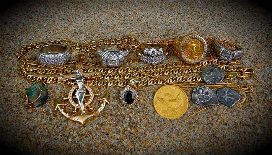 Поиск драгоценных металлов