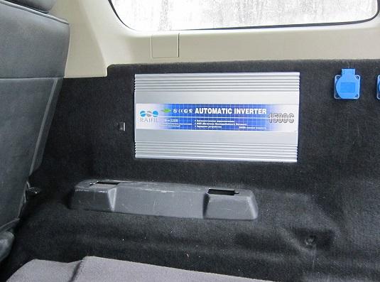 Установка инвертора в авто