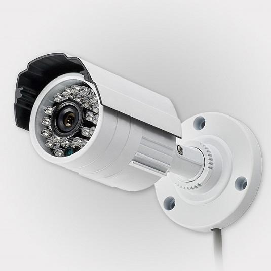 Видеокамера охранная с инфракрасной подсветкой
