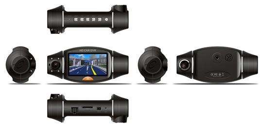 Видеорегистратор с GPS-модулем