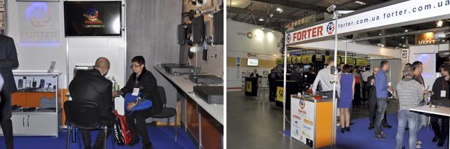Интернет-магазин Фортер на выставке систем безопасности