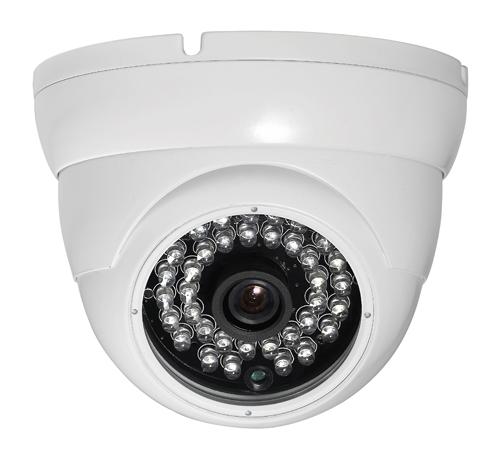 Купольная камера CoVi Security  FI-261E-20 белого цвета