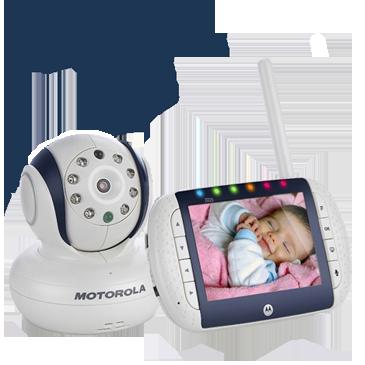 Видеоняня Motorola MBP-36 для наблюдения за ребенком
