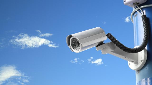 изображение камеры видеонаблюдения: