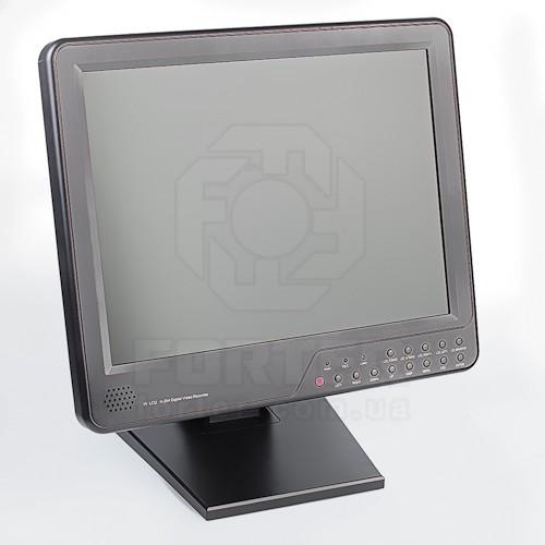 Экран системы видеонаблюдения