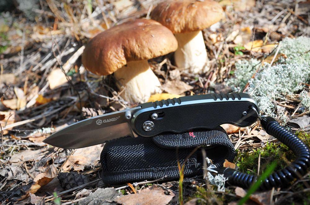Ножик с чехлом для грибника