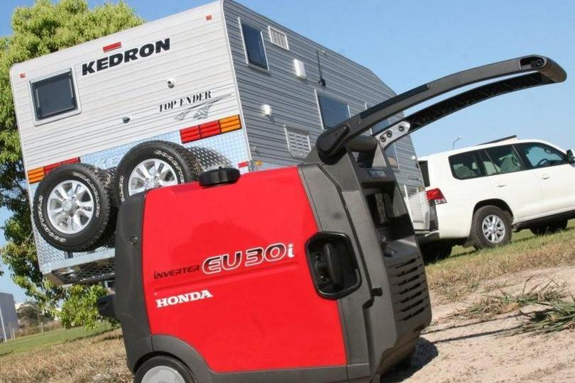 Бензиновый генератор Хонда для кемпинга