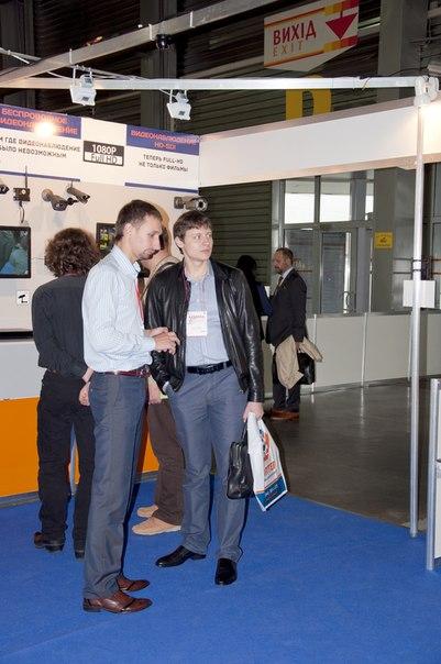 Фортер на выставке по системам безопасности