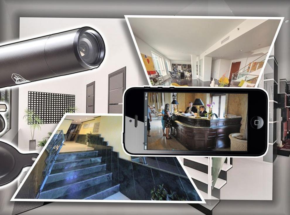 Комплект беспроводного видеонаблюдения для квартиры