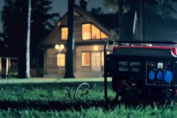 Освещение дома с помощью генератора