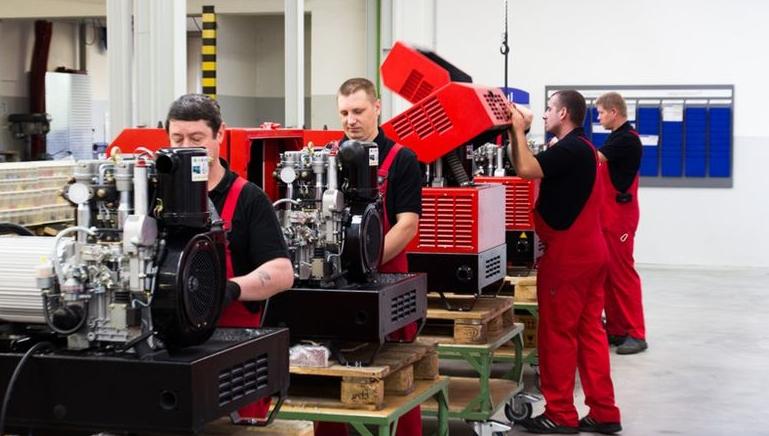 Производство генераторов Эндресс