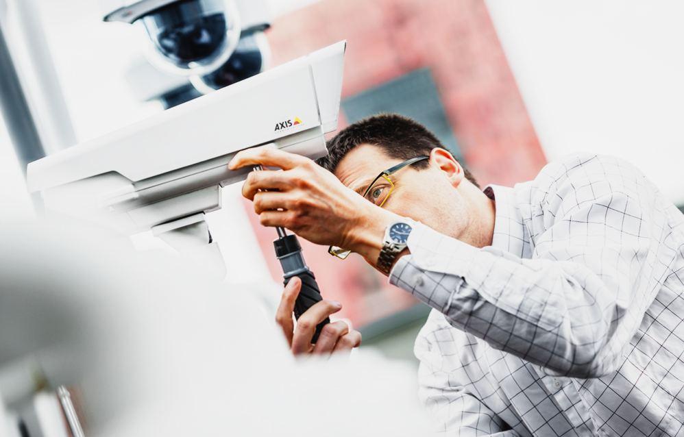 Тепловизионная камера Аксис