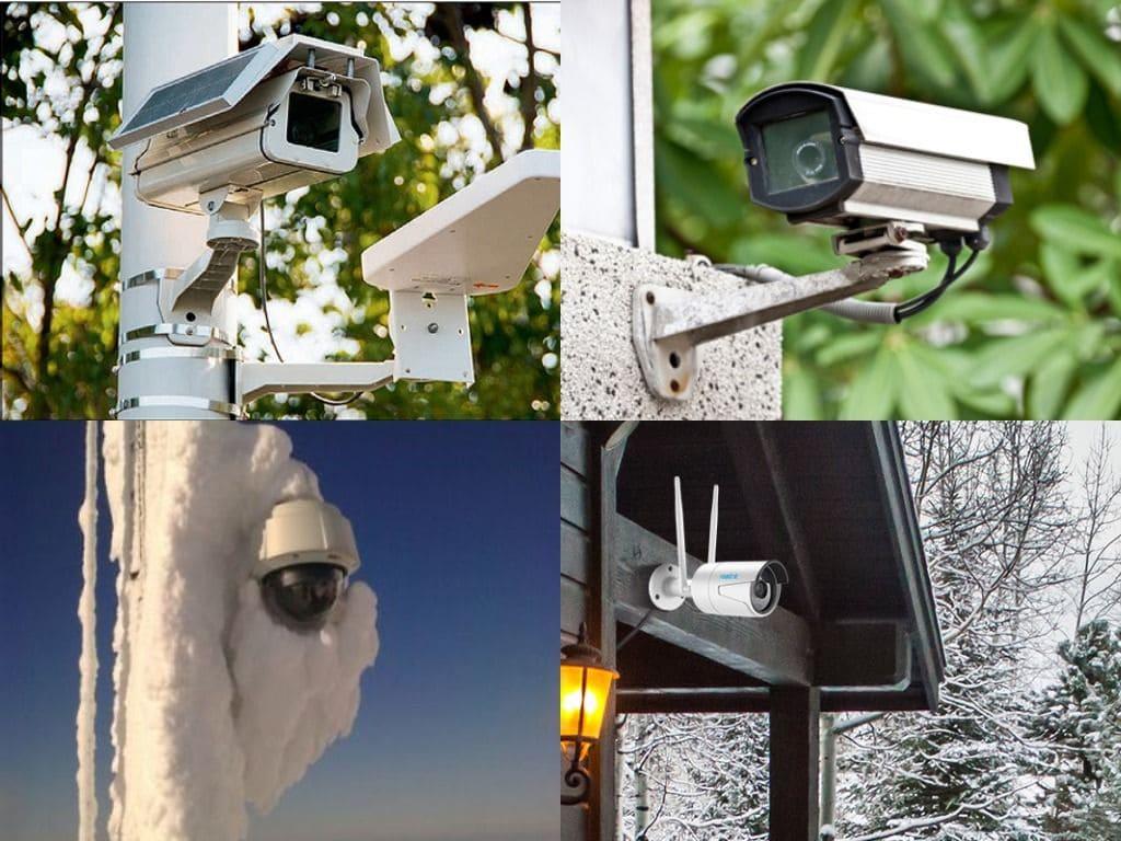 камеры в экстремальных температурах