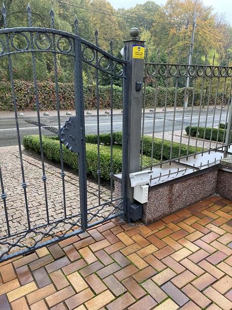 охрана периметра ворота