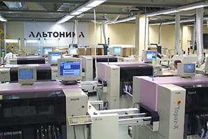 Производство Альтоника