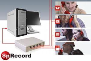 Четырёхканальный адаптер SpRecord
