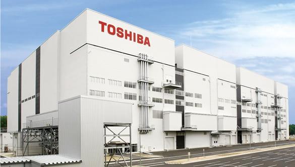Toshiba завод