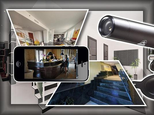 Видеонаблюдение дома