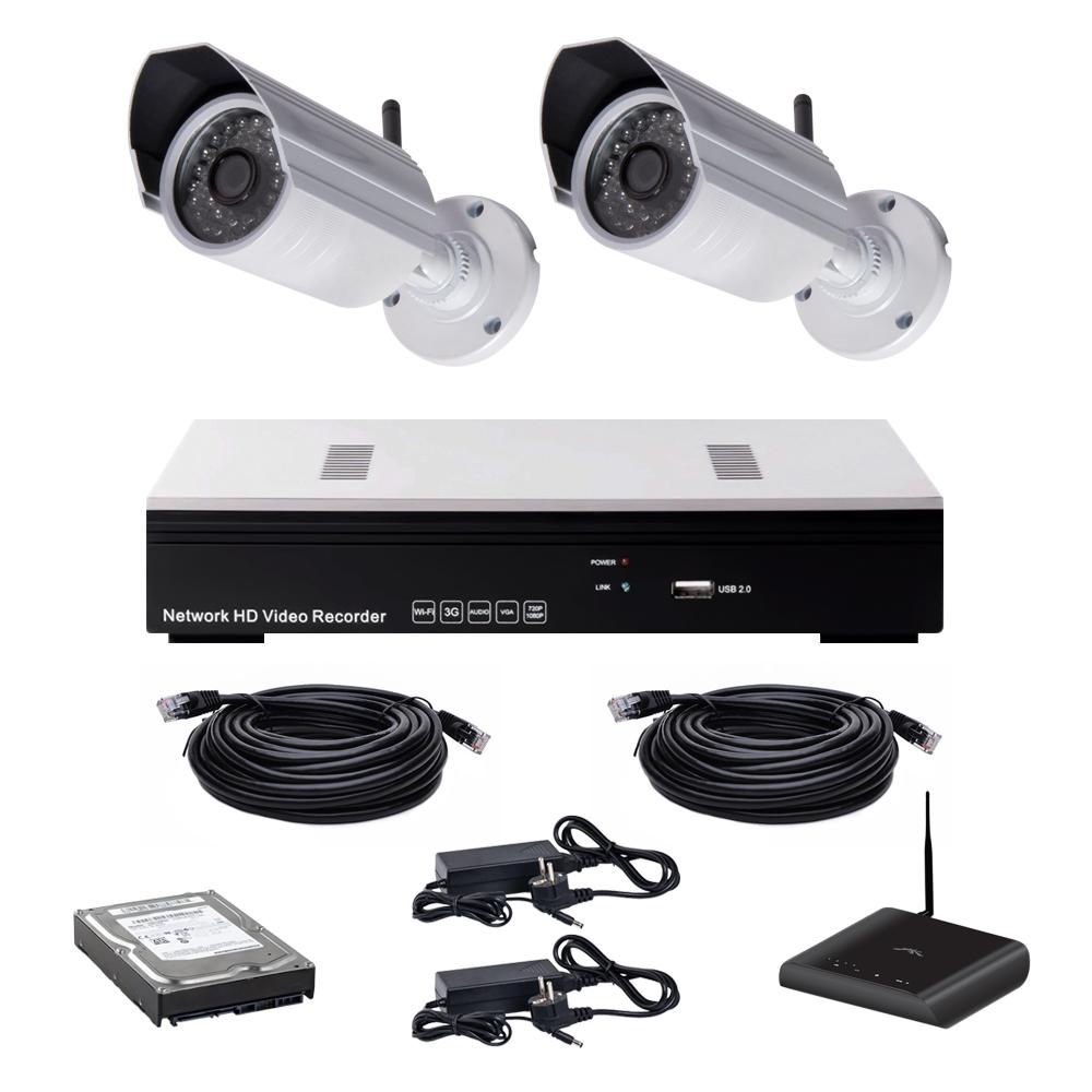 Беспроводной комплект видеонаблюдения Covi Security NVK-2003 Wi-Fi IP KIT