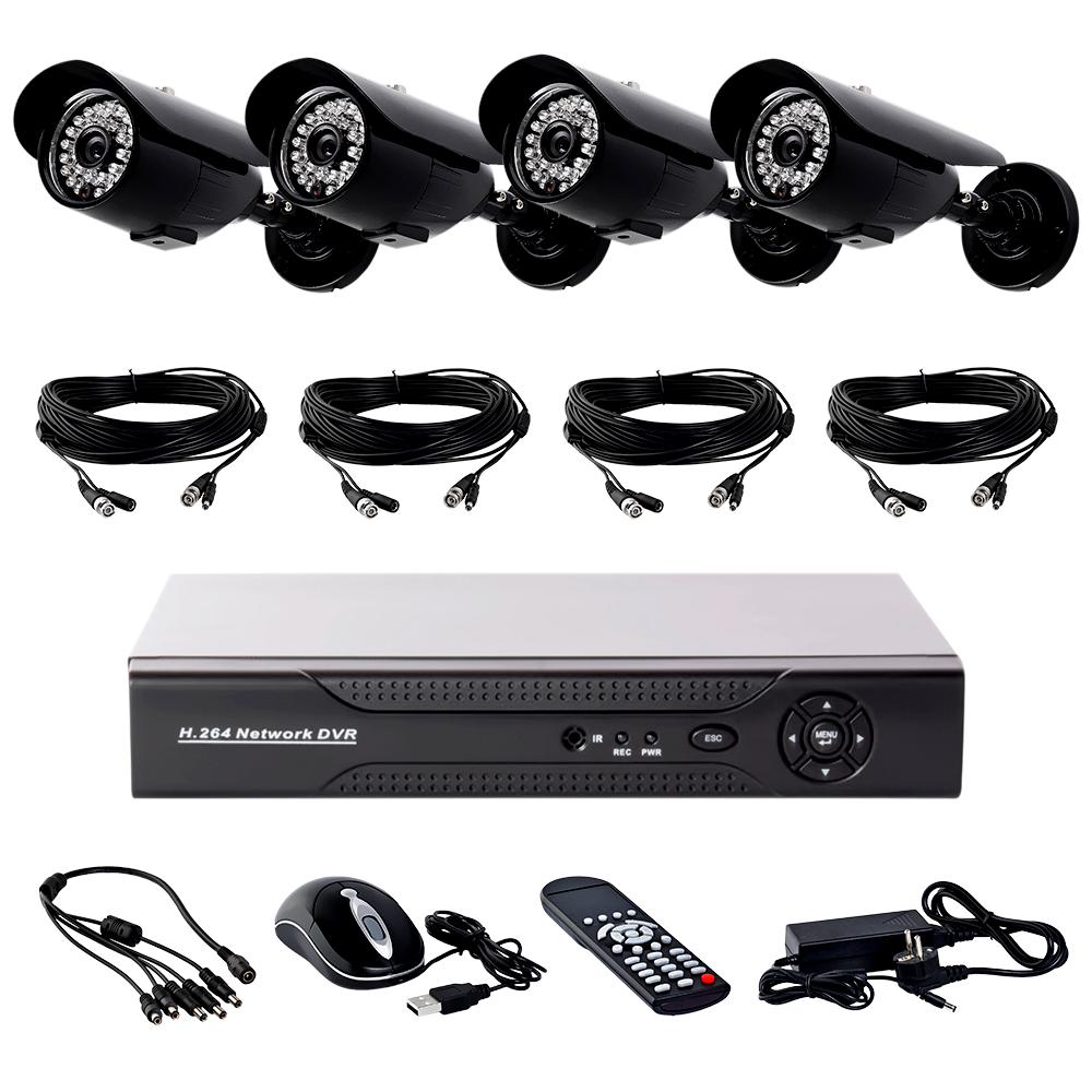 Комплект видеонаблюдения Covi Security FVK-3008 KIT