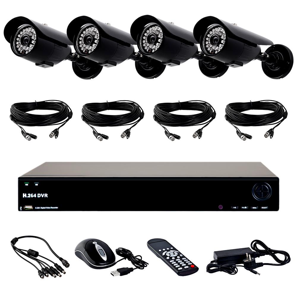 Covi Security FVK-3301 PRO KIT аналоговый комплект видеонаблюдения